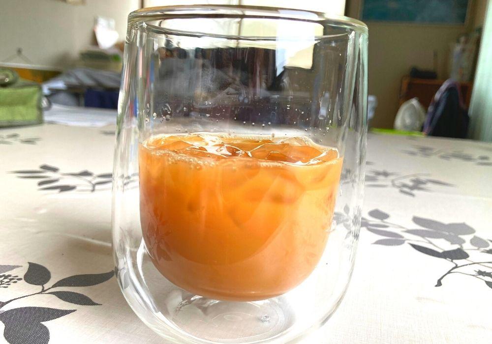 ダブルウォールグラスコーヒー