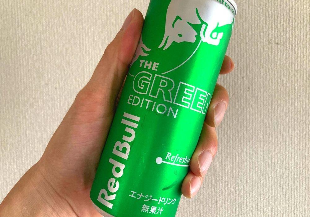 緑のレッドブル